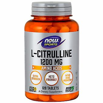"""עכשיו מיזות L-Citrulline, 1200 מ""""ג, 120 כרטיסיות"""