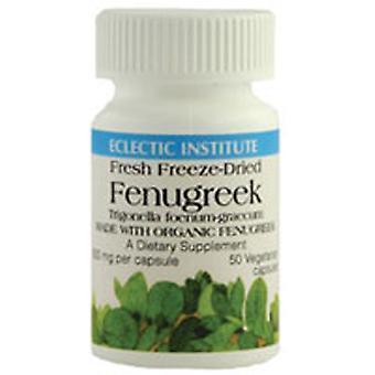 Eclectic Institute Inc Fenugreek, 600 mg, 50 Caps