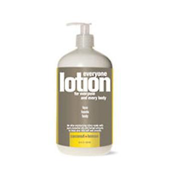 EO Products Everyone Lotion, Coconut & Lemon 32 OZ
