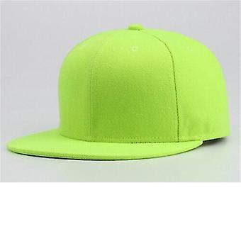 Monivärinen säädettävä baseball-lippis, hip hop urheilu hattu naiset