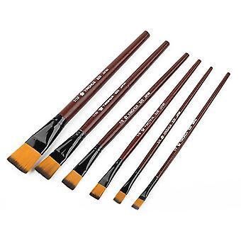 High-quality Artist Nylon Hair, Wooden Handle -watercolor Oil Paint Brush Set
