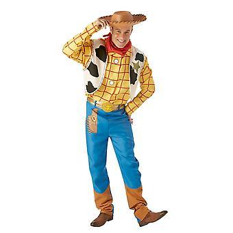 Disney Halloween Fancy Dress Costume Adult Male - Toy Story - Woody