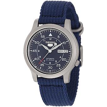 Seiko 5 Gent Watch SNK807K2 - Fabric Gents Automatic Analogue