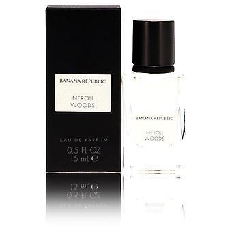 Banana republic neroli woods eau de parfum spray (unisex) por república bananera 553160 15 ml