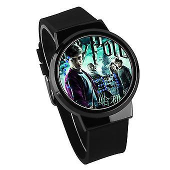 Nepremokavé svetelné LED digitálne dotykové detské hodinky - Harry Potter #5