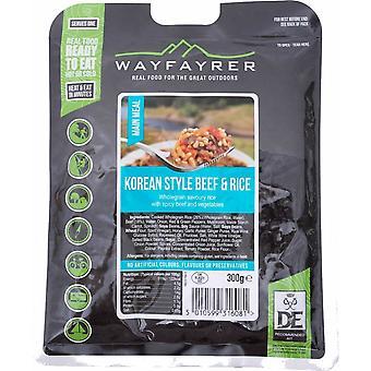 Wayfayrer coreean stil de carne de vită & Orez -