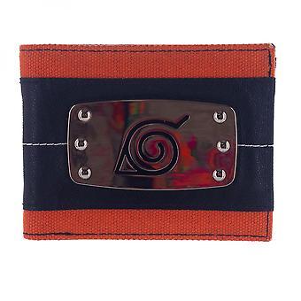 Naruto Metal Badge Bifold lompakko