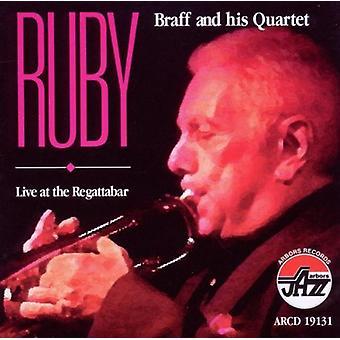 Ruby Braff - Live på Regattabar [CD] USA importen