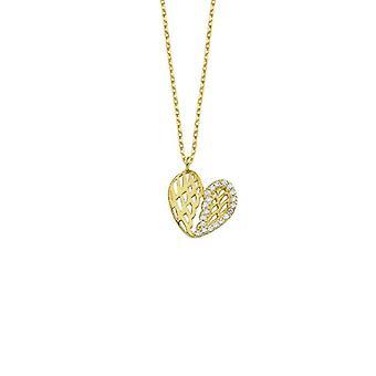 Naszyjnik ze złota serca