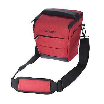 Andoer tragbare dslr Kamera Schultertasche schlanke Polyester Kamera Fall für 1 Kamera 1 Objektiv und klein ein wom28969