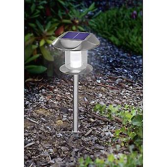 Esotec Solar garden light Sunny 102093 LED (monochrome) Warm white, Cool white Stainless steel
