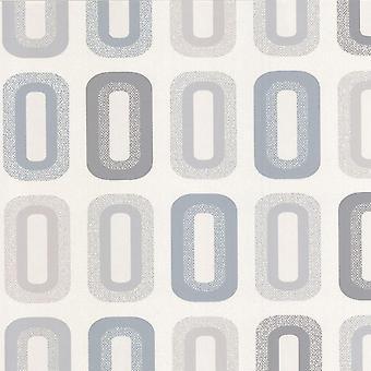 Erismann Retro Vinyl Cream Wallpaper