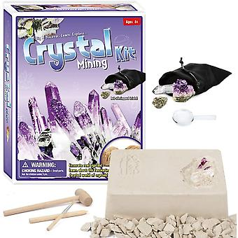 Gemstone Dig Kit,dig Up 5 Gems, Science And Educational Toys Make Great Kids Activities