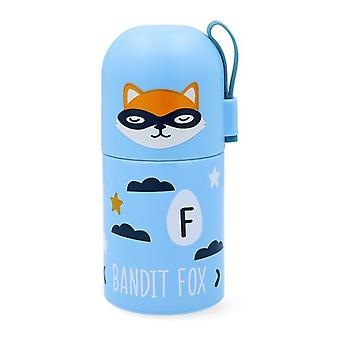 Travel thermos flask Quid Little Fox Go Hero Stainless steel 0