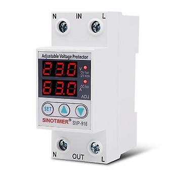 Διευθετήσιμος προστάτης κύματος τάσης με την επίδειξη LCD
