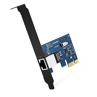 Adaptador de red Ugreen gigabit pci express, tarjeta de red pci express pcie gigabit tarjeta ethernet lan tarjeta