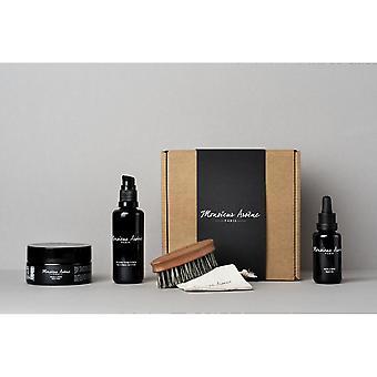 Oil Care Box - Gel-cr me - Mask - Beard Brush