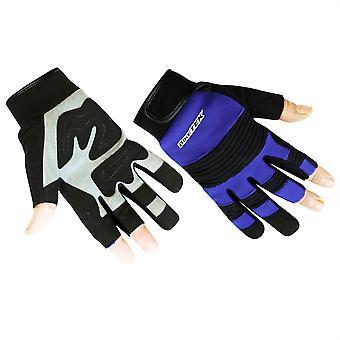 Biketek Mechanics Gloves Open-Finger
