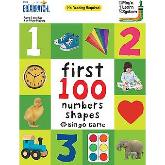 University Games First 100 Numbers, Colours and Shapes Bingo