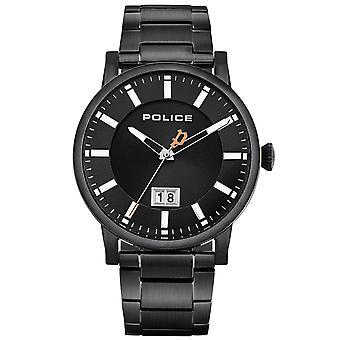 Mens Watch המשטרה PL15404JSB.02M, קוורץ, 42mm, 3ATM
