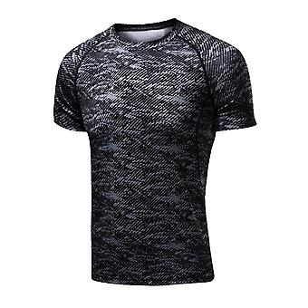 Men's Running Compression Tshirts, Soccer Jersey, Fitness Tight Sportswear, Gym