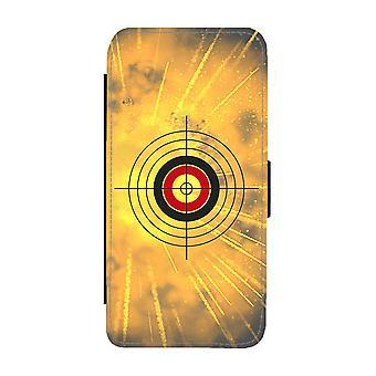 Caja de cartera del iPhone 11 de tiro con arco