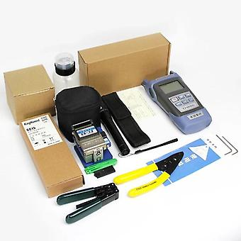 Ftth Fibra Optica Tool Kit Cleaver optice Power Meter Laser Pen