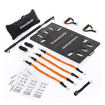 InnovaGoods Gympak max Portable Comprehensive Training System + Exercise Guide