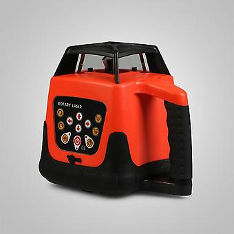 500m Laser Level Rotary Beam Auto Self Leveling Cross Line + statyw + personel