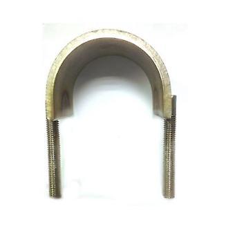 U-strap Galvanised Steel 124 Mm Inside Diameter