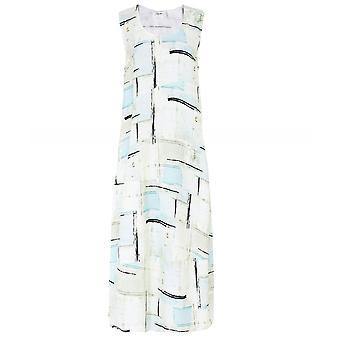 Crea Concept Sleeveless Linen Blend Dress