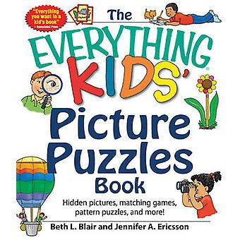 The Everything Kids' Picture Puzzles Book - Hidden Pictures - Matching