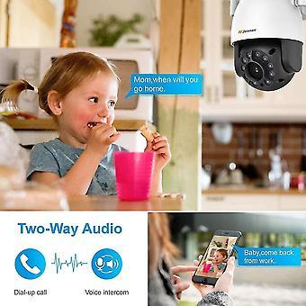 Wokex 2MP PT berwachungskamera 1080P Full HD WLAN IP Sicherheitskamera 355 schwenkbar 90 neigbar
