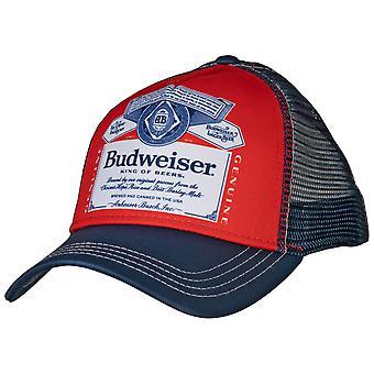 Budweiser kaareva brim snapback hattu