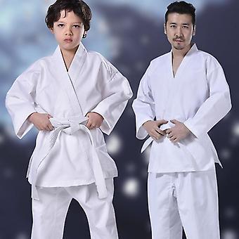Επαγγελματική στολή καράτε με τη ζώνη ζωνών, κοστούμι Taekwondo για τον ενήλικο,
