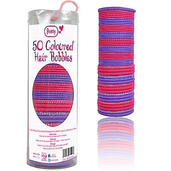 Pretty Coloured Hair Bobbles