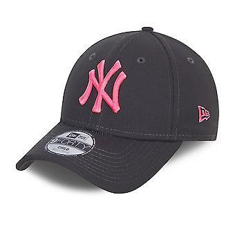 New Era 9Forty Kids Cap - New York Yankees charcoal