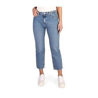 Calvin Klein -BRANDS - Vaatteet - Farkut - J20J205454-911-L30 - Naiset - steelblue - 32