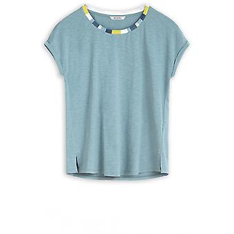 Sandwich Clothing Blue Shadow Jersey T-Shirt