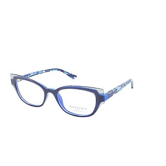 Face A Face Eyeglasses Frame HELLO 2 Col. 4860 Acetate Blue Grey Blue Flash
