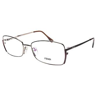 FENDI النظارات الإطار F959 (770) المعادن الخفيفة البرونزية إيطاليا أدلى 54-16-135، 34