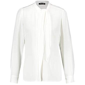 Taifun Bluse 1/1 Arm T-Shirt, off White, 36 Women