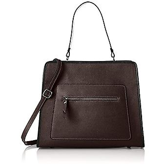 Bolsa Bolsa 8877, Bolso de hombro de mujer, marrón (TMORO), 35x30x15 cm (W x H x L)