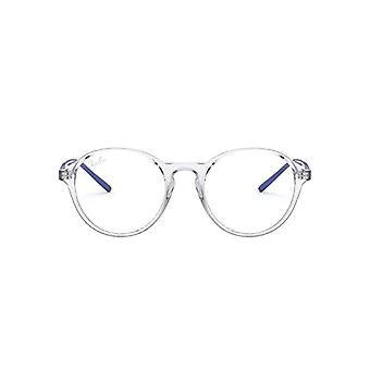Ray-Ban RX7173 Reading Glasses, Transparent, 49 Unisex-Adult(1)