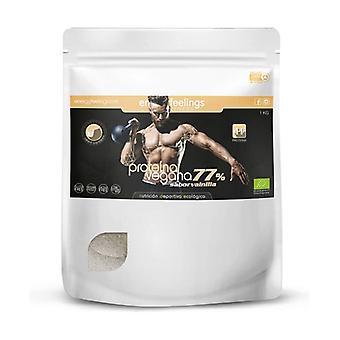 Organic Vegetable Protein 77% Vanilla 1 kg