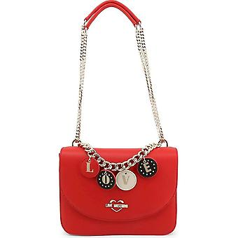 Love Moschino - Bags - Shoulder Bags - JC4226PP0BKD-0500 - Women - Red