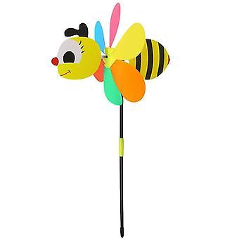 Bunte 3d Insekt, große Tierbee, Marienkäfer, Windmühle Wind Spinner, Whirligig