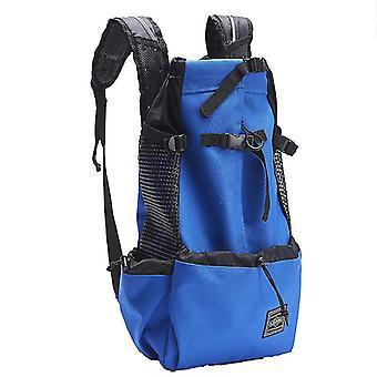Adjustable reflective carrier bag for dogs - outdoor travel backset for hiking pl-370