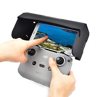 Foldable mobile phone sun hood remote controller sunshade light block cai1402
