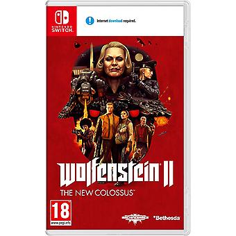 Wolfenstein II Uusi Colossus Nintendo Switch peli